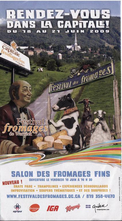 Festival des fromages deWarwick