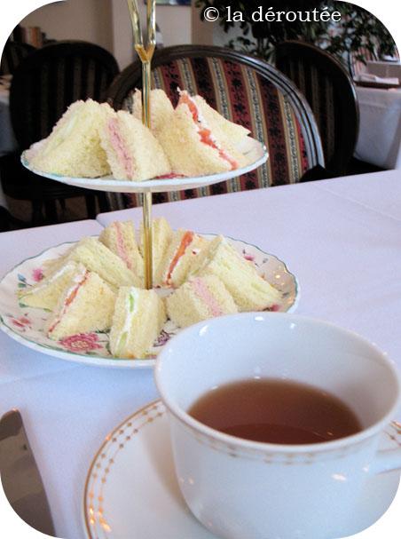 Plaisirs d'un traditionnel thé d'après-midi
