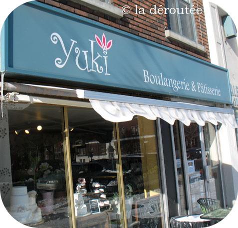 Située dans Westmount, à quelques pas seulement du métro Vendôme, la petite  boulangerie artisanale et pâtisserie Yuki Bakery (5211 Sherbrooke ouest)  offre