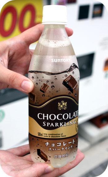 Une boisson gazeuse auchocolat?
