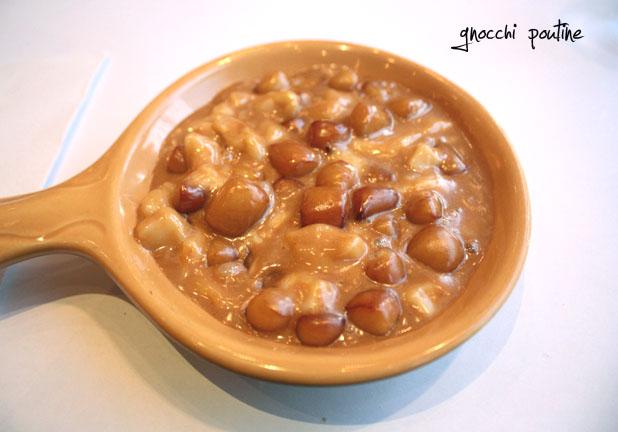 Macaroni Bar et la gnocchipoutine