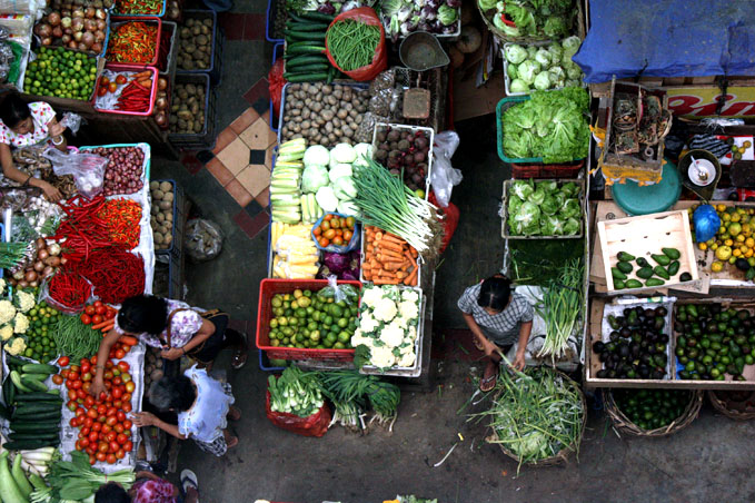 Tuban et les marchés deDenpasar
