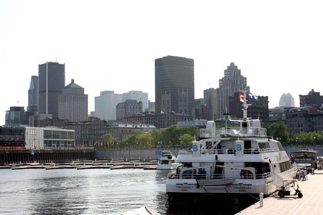Montréal vue dufleuve