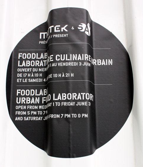 Foodlab = gastronomie + streetfood